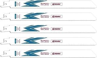 EZARC セーバーソーブレード 全長225mm 18山 鉄・ステンレス・非鉄金属用 替刃 R922PT (5本入)