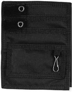 Elite Medical Instruments EAO-314-B EMI Nylon 5 Pocket Nurse Scrub Organizer, Black