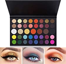 39 Colors Eyeshadow Palette Fantasy Matte Shimmer Makeup Pigmented Eye Shadow Natural Smooth Long Lasting Waterproof Cosmetics