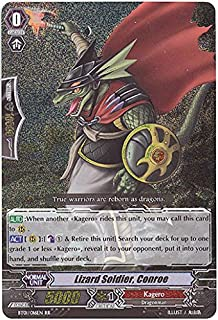 Cardfight!! Vanguard TCG - Lizard Soldier, Conroe (BT01/016EN) - Descent of the King of Knights