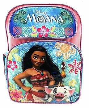 Disney Moana Pink & Blue Backpack 16  for kids