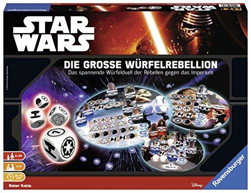 Preisvergleich Produktbild Ravensburger 26664 - Star Wars Die große Würfelrebellion