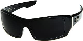 Men's Rectangular Hardcore Wrap 63mm Sunglasses