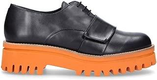 PALOMA BARCELÓ Luxury Fashion Womens ANEZKABLACK Black Lace-Up Shoes | Fall Winter 19