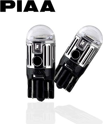 【Amazon.co.jp限定】PIAA ポジション用 LED T10 6600K 85lm 高光度ハイスペックLED_車検対応 2個入 12V/1W 定電流回路内蔵 X7318