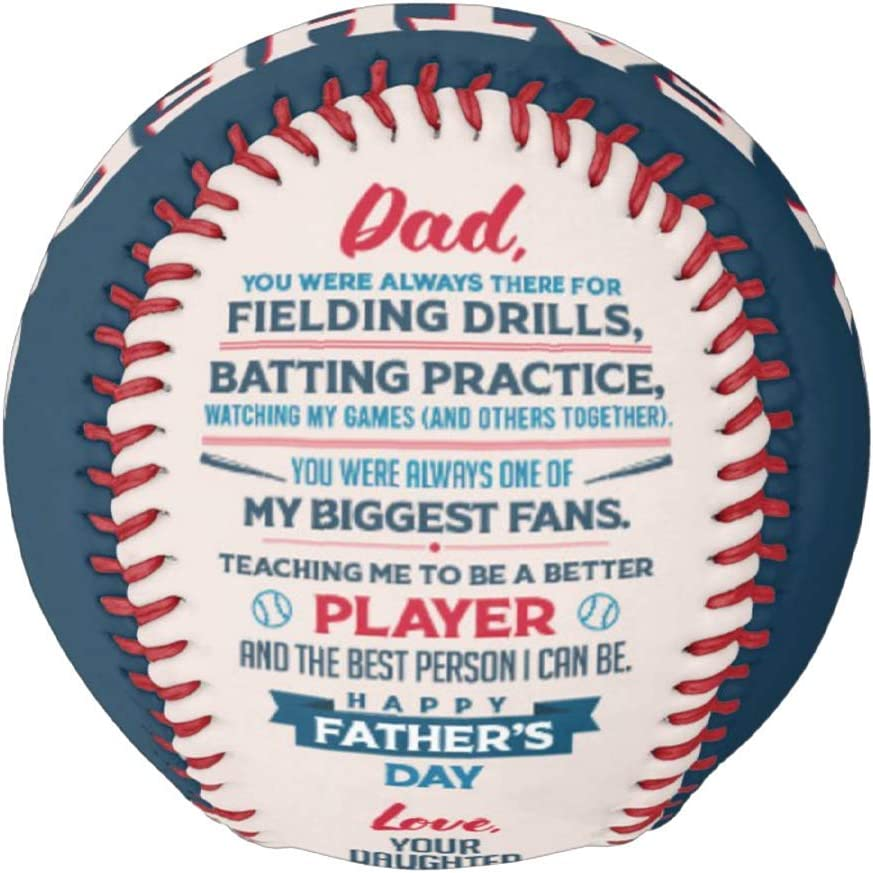 Make-A-Ball Custom Father's Day Love Quote Persona Softball All items in the store Philadelphia Mall Gift