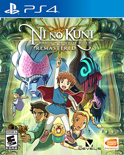 Namco Bandai Games (World) Ni no Kuni Wrath of The White Witch (Import Version: North America) - PS4