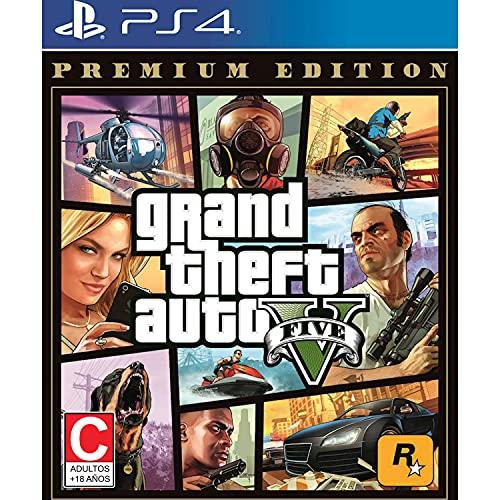 PS4 GRAND THEFT AUTO V [PREMIUM EDITION] (US)