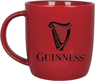 Guinness Harp Mug (Red Logo)
