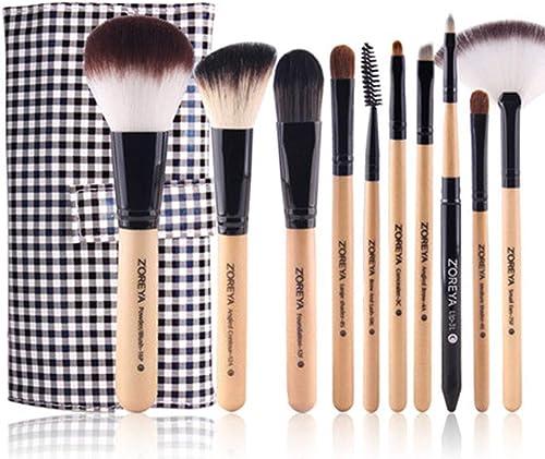 al precio mas bajo Make Up Brush Foundation Set - Maquillaje para para para Cara Y Ojos - Cerdas SintéTicas De Calidad Profesional para Polvo, Rubor, Corrector  servicio de primera clase