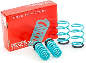Godspeed(LS-TS-BW-0003-A) Traction-S™ Performance Lowering Springs, Set of 4, BMW 3-Series 2012-2017(F30)