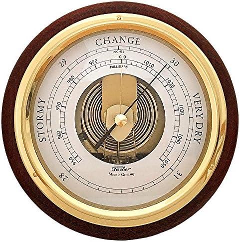 Fischer Barometer Pascal Brass-Mahogany Spasm price 6.7