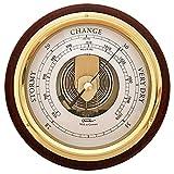 Fischer Barometer Pascal, Brass-Mahogany 6.7
