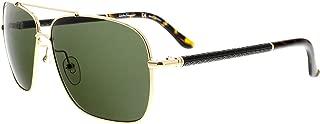 SALVATORE FERRAGAMO Sunglasses SF145SL 717 Shiny Gold 59MM