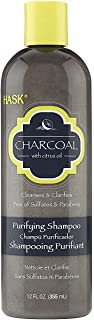 Hask Shampoo Charcoal Purifying 12 Ounce (354ml) (3 Pack)