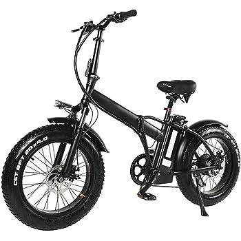 Bicicleta eléctrica plegable bicicleta de montaña para adultos, de ...