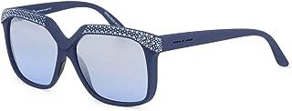 Italia Independent Women's 0919CR Sunglasses Blue