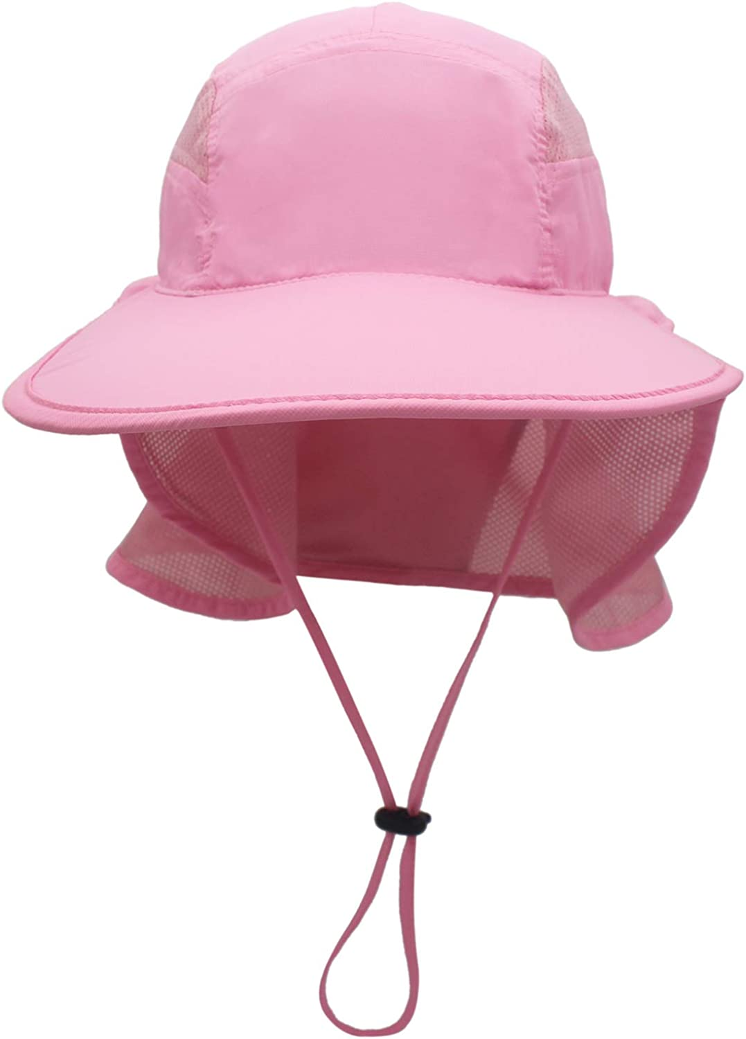 Men's Sun Hat UPF50+ Fishing Hat with Neck Protector for Women Outdoor UV Protection Wide Brim Sun Hat