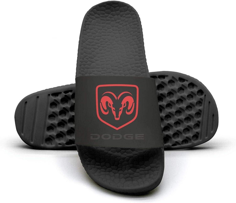 EIGKASL Printed Non-Slip Slippers Slides flip Flop Sandals Dodge-Logo-Symbol-Goat-Summer Comfortable for Womens