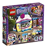 LEGO Friends IlCupcakeCafédiOlivia, Mini-Doll di Olivia ed Emma, Scooter Giocatto...