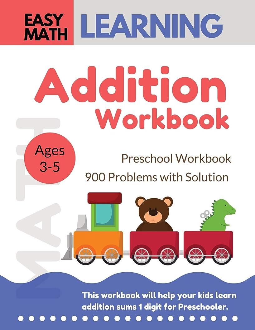 クライアントパズルメタルラインAddition Workbook: Easy Math Learning  : 30 Days Challenge for 3-5 years and Pre-K   Preschool Workbook (addition easy math workbook for kids)