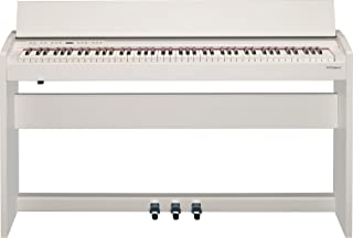 Roland Compact 88-key Digital Piano with Built-In Speaker, white (F-140R-WH)