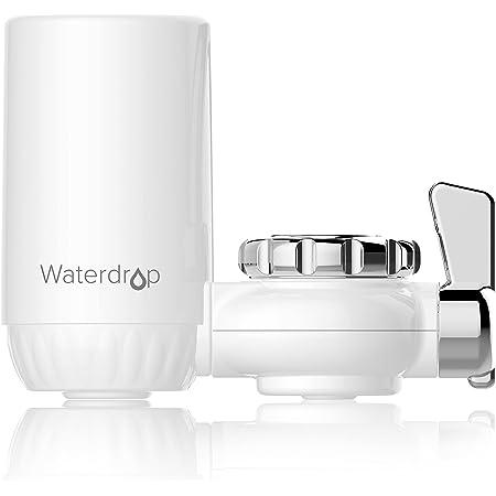 Waterdrop WD-FC-04 NSF Certifiée Filtre à Eau du Robinet, Système de Filtration ACF, Purificateur de l'eau de Longue durée pour Cuisne, Réduit Chlore, Goût et Odeur (1 Filtre Inclus)