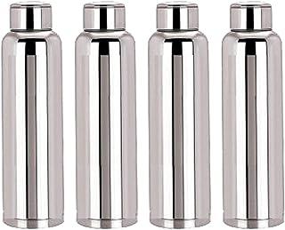 Kuber IndustriesTM Stainless Steel 4 Pcs Fridge Water Bottle/Refrigerator Bottle/Thunder -CTKTC6014