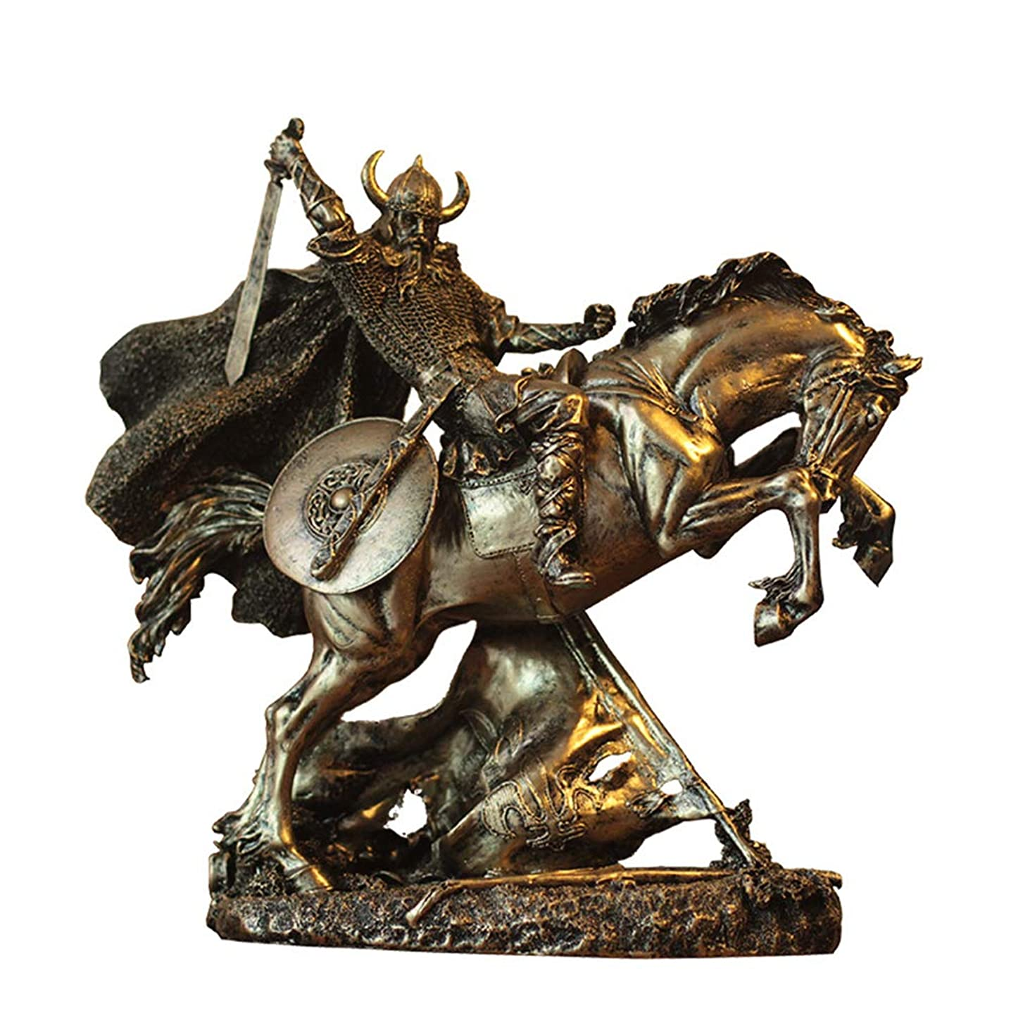 SDBRKYH Roman Warrior Statue, Ancient Roman Warrior Statue Greek Warrior Statue Desktop Decorations Desk Decoration