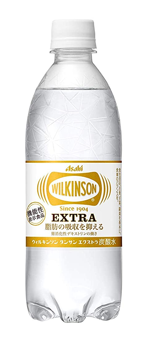 なる北へ管理しますアサヒ ウィルキンソン タンサン エクストラ 490ml×96本【機能性表示食品?脂肪の吸収を抑える】
