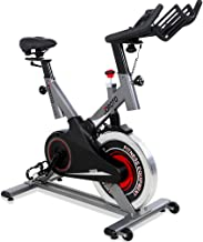 JOROTO Indoor Cycling Bike with Magnetic Resistance and Belt Drive 300 lb Weight Capacity Exercise Bikes Stationary for Home Gym Cycle Workout (Model: XM30)