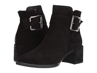 Paul Green Birch Boot (Black Suede) Women