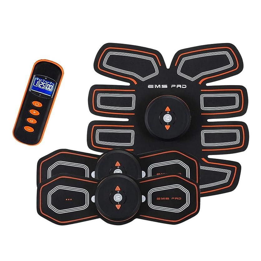 厳エンディングトレーダーEMS AbsトレーナーAbベルト、腹部調色ベルト、腹筋刺激装置、ABSマシンAbベルト調色ジムワークアウトマシン用男性&女性 (Size : B)