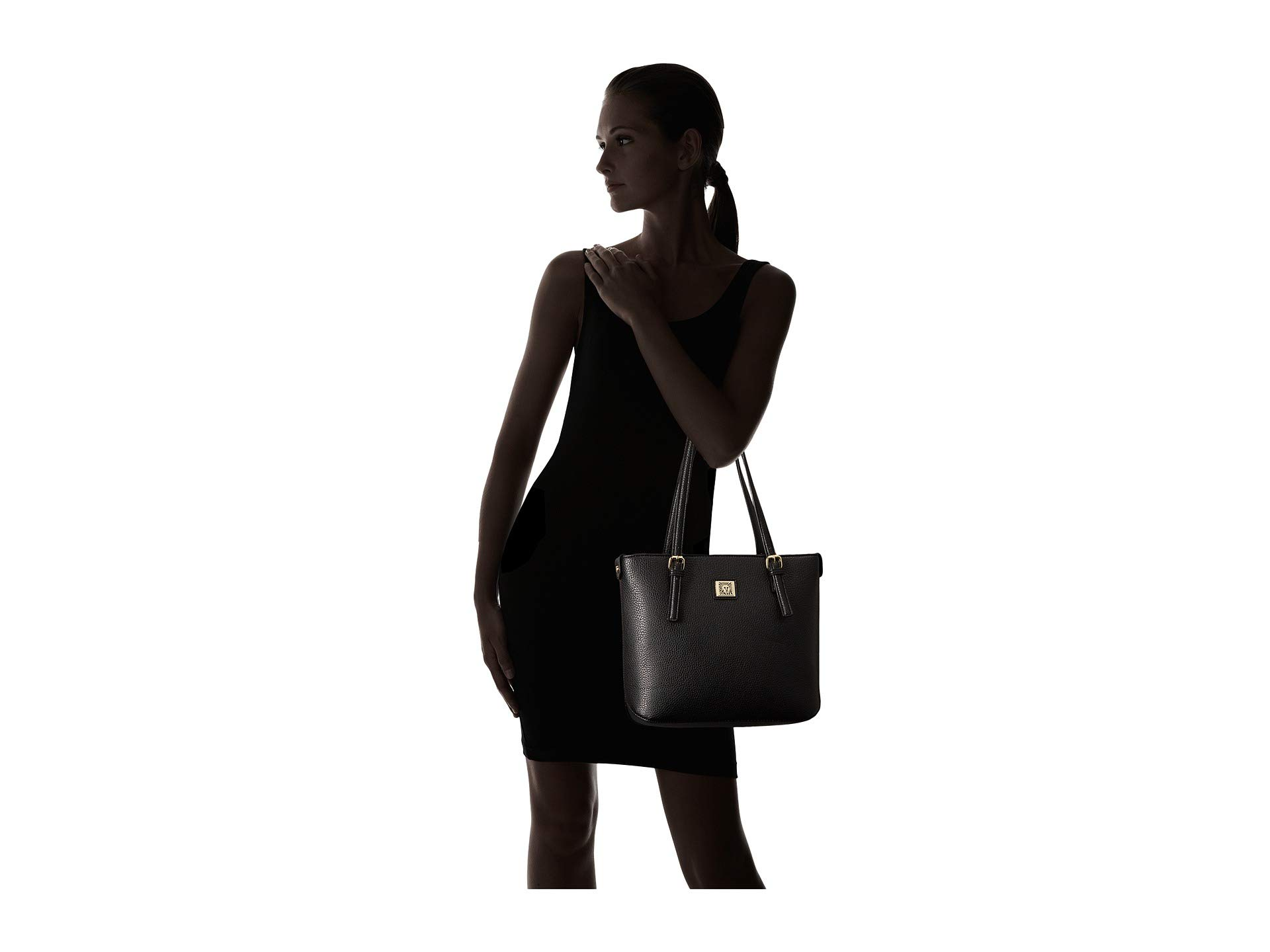 Perfect Anne Tote Black Shopper Klein Small HqRgfq