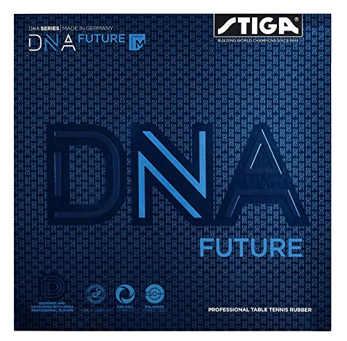 Great Deal! STIGA DNA Future M Table Tennis and Ping Pong Rubber, Choose Color and Thickness