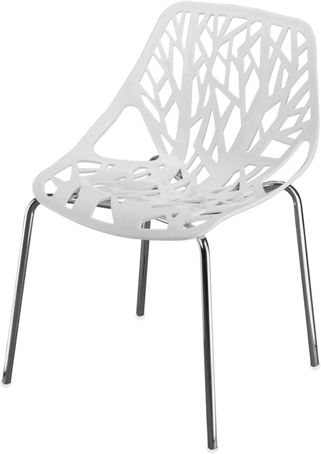 Babilo 4-Pack Modern Dining Chairs Max 83% OFF Chair for K Hollow Stackable Super Special SALE held