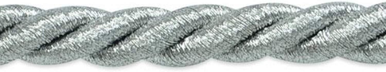 "per yard Expo Holly 3//8/"" Metallic Twisted Cord Trim"