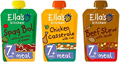 Ella's Kitchen Organic Meal Time Favourites Variety Pack