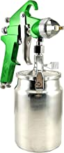 Dynamic Power Professional HVLP Siphon Feed Spray Gun 1L Non-drip Paint Cup with Nozzle Tip Size 1.4mm D-D97V-S/G