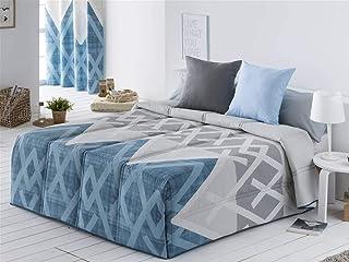 Sansa - Conforter AMAN cama 135 - color azul
