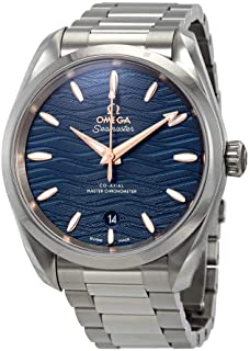 Seamaster Aqua Terra Co-Axial Master Chronometer Automatic Blue Dial Men's Watch 220.10.38.20.03.002