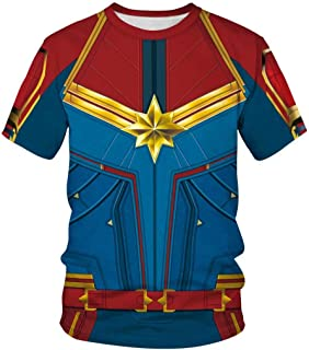 Best captain marvel costume shirt Reviews