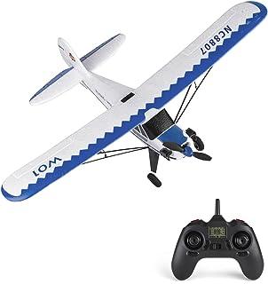 Houshome YU XIANG W01 RC Airplane 2.4GHz 3CH 6-axis Gyro RC Plane Gliding J3 Aircraft Model Flight Toys for Adults Kids Boys