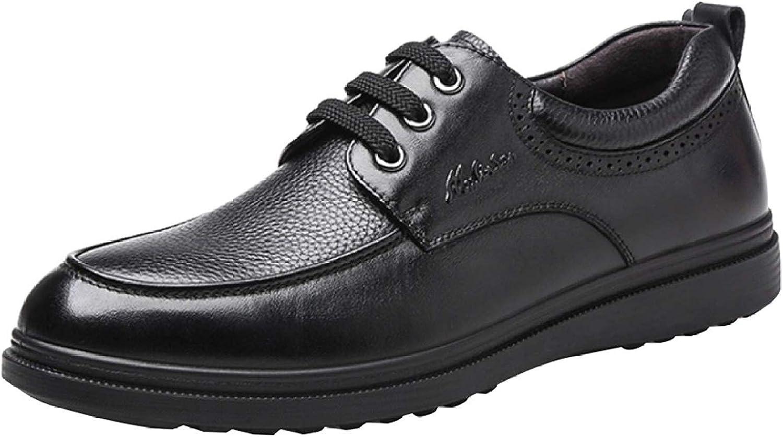 FuweiEncore män Lace Up Oxford Oxford Oxford skor Dress Up Business skor Youth Daily Wear (färg  svart, Storlek  44EU)  Toppvarumärken säljer billigt