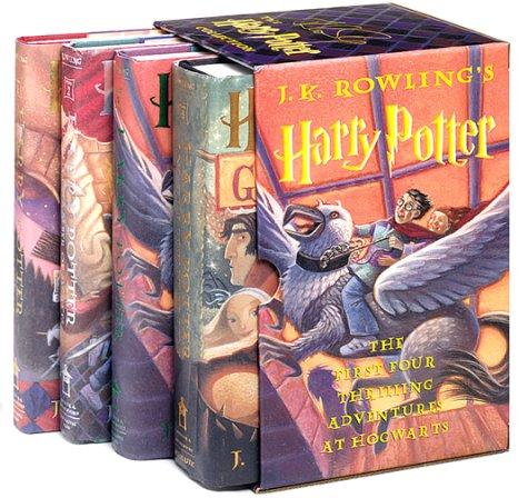 Harry Potter (4 Volumes set)