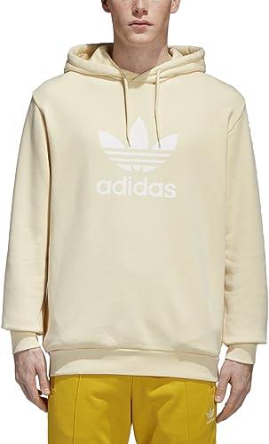 Adidas Originals Hommes's Trefoil sweat à capuche Mist Sun petit