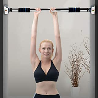 Besthls Pull Up Bar for Doorway,  Door Exercise Bar Without Screw Installation,  Chin Up Bar with Locking Mechanism,  Workout Bar for Home Gym Exercise Fitness & 440 LBS
