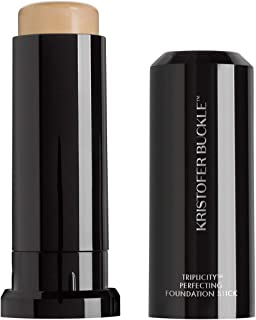 KRISTOFER BUCKLE Triplicity Perfecting Foundation Stick, 0.4 oz.   Primes Skin, Provides Buildable Coverage & Has A Soft-F...