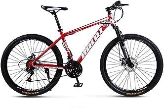 AISHFP Bicicleta de montaña para Adultos, Bicicleta de Moto de Nieve en la Playa, Bicicletas de Crucero de Doble Freno de Disco, Ruedas de aleación de Aluminio de 26 Pulgadas