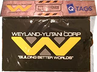 SDCC 2015 Cosmic LootCrate Weyland-Yutani Corp. Building better worlds Alien vs. Predator Luggage Tag